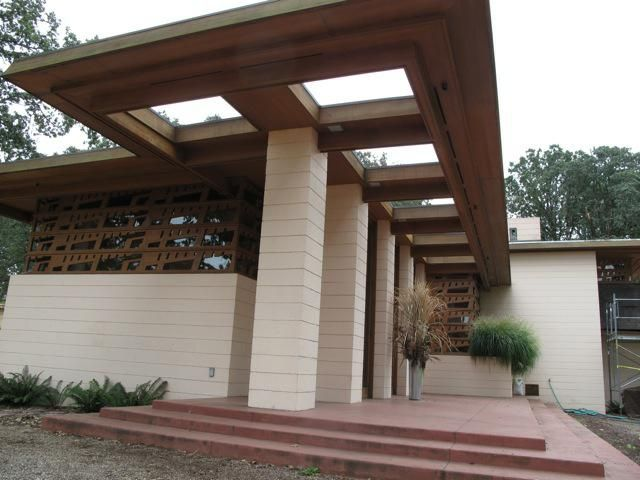 1000 images about usonian on pinterest home terrace for Usonian house plans for sale