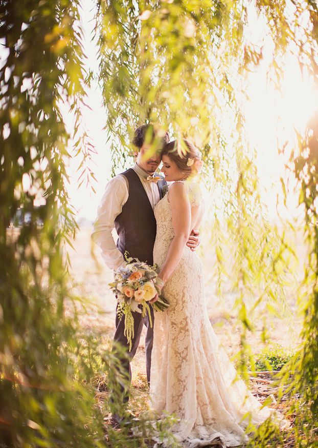 Alixann Loosle Photography: Melanie + Roman Wedding  Ahh yes weeping willow!