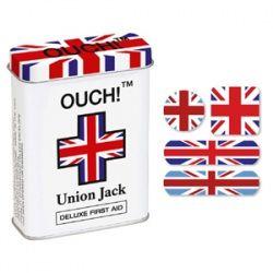 Ooh! Union Jack Bandaids