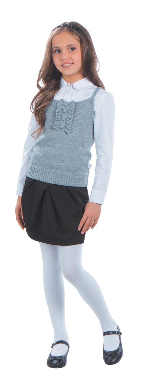 School Uniform For Girls - Jersey  Детская Школьная Форма -7101