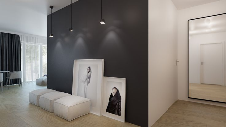 #interior#design#minimal#black#white http://monikaskowronska.pl/