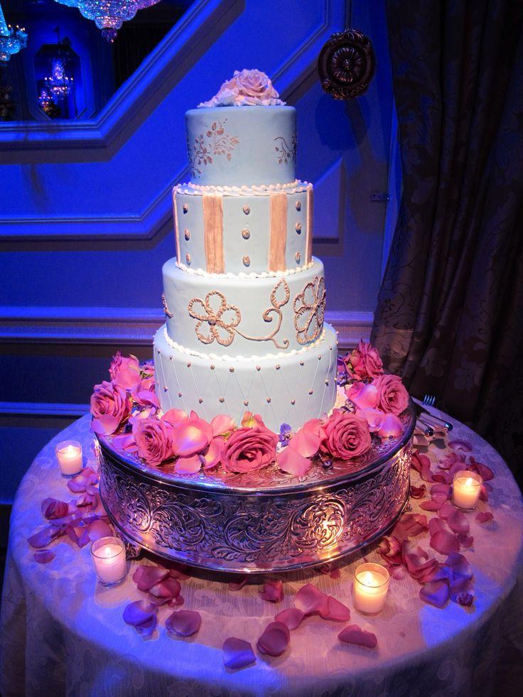 wedding cakes northern new jersey%0A Beautiful wedding cake floral decor  Amaryllis Decorators Northvale  New  Jersey