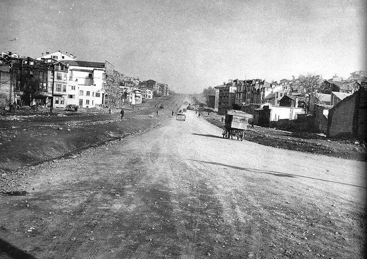 BEŞİKTAŞ-YILDIZ YOKUŞU.1955