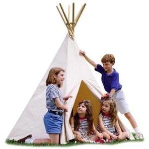 teepee: Plays Stuff, Ideas, Kids Stuff, Grand Children, Canvas Tepee A, Kids Activities, Grandchildren, Children Tipi, Kids Fun