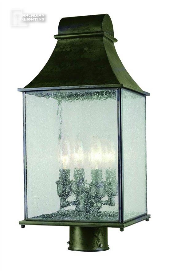Dark Sky Revere Transitional Outdoor Post Lantern Coach