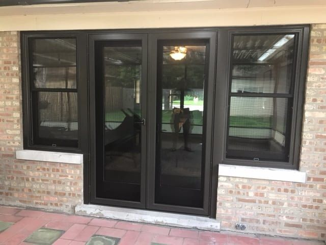 Unique Patio Door And Window Combination Unique Patios Windows Doors