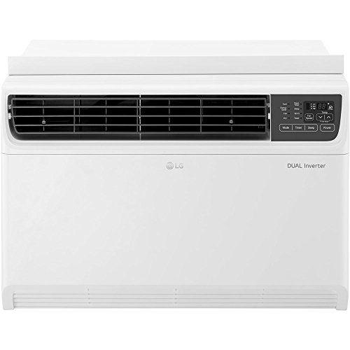 Lg Lw1517ivsm 14 000 Btu Dual Inverter Window Air Conditioner With Remote Control Window Air Conditioner Air Conditioner Remote Control
