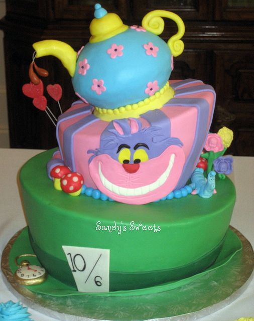 mad hatters tea party birthday cake | Recent Photos The Commons Getty Collection Galleries World Map App ...