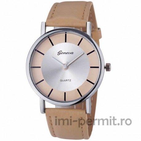 Un ceas Geneva cu design modern