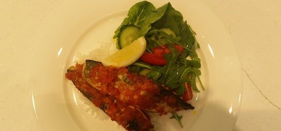 This is a delightful dish and is seen on many a restaurant menu. If you are a chilli lover, add more chilli.