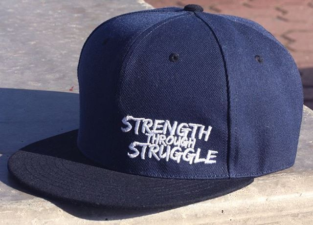 LAST CHANCE TO ENTER! Winner announced tomorrow! 👍  WIN OUR LAST STRENGTH THROUGH STRUGGLE SNAPBACK! All participants…