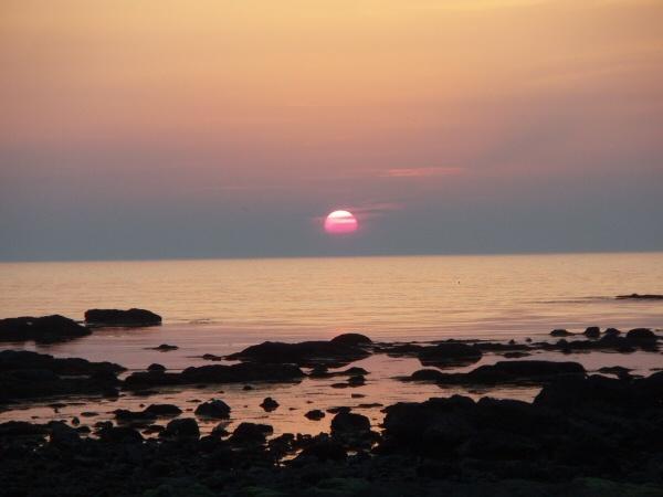 The setting sun of senjyojiki