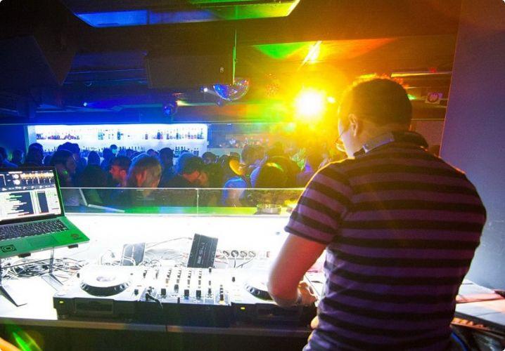 DJ in Famous Trafo Dance Club #bratislava #dj #stagdo