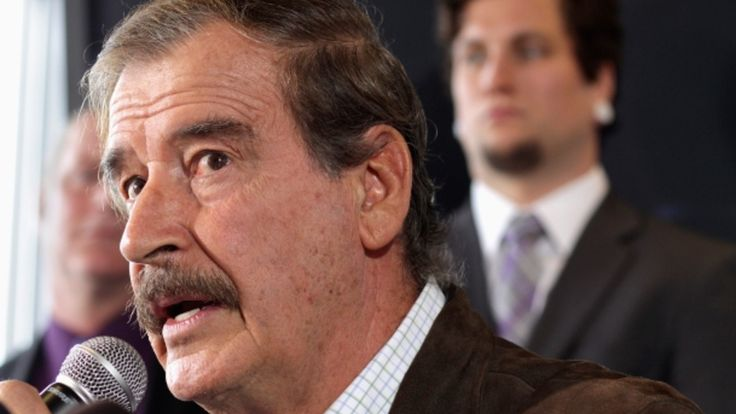 Vicente Fox Scolds Trump: 'You're a President. Behave Like One'