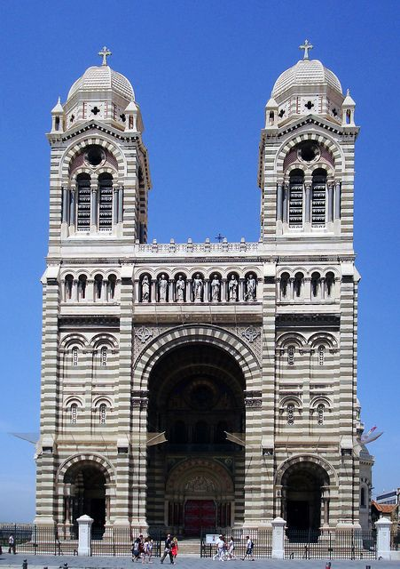 Cathedral Notre Dame de la Garde, Marseilles, France