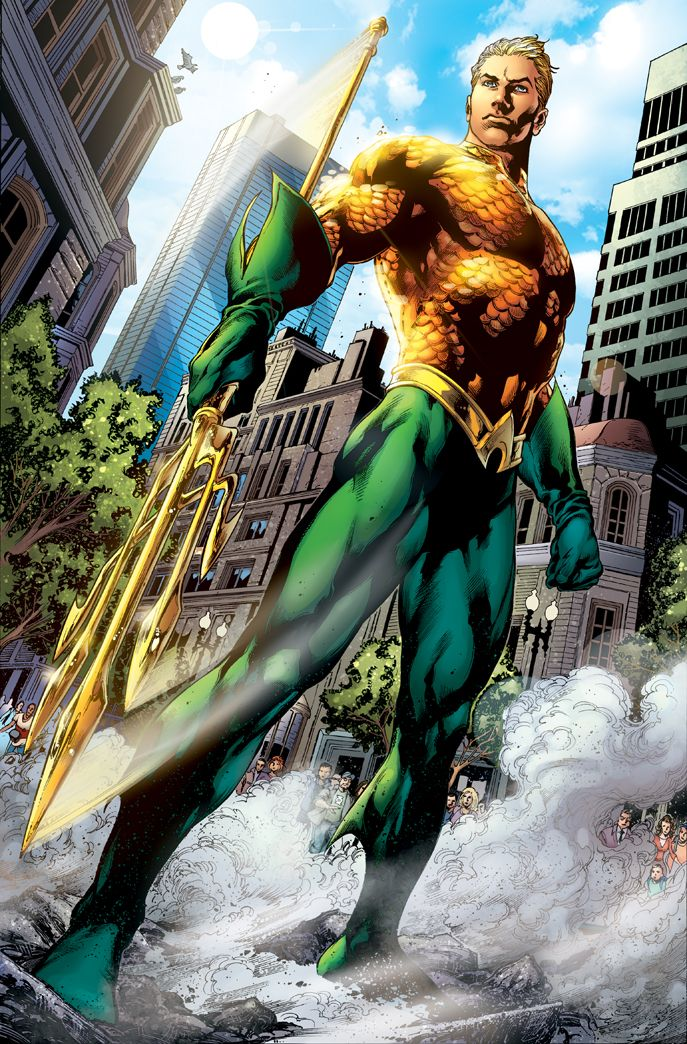 Aquaman - Very Underrated recently- Check out New 52, its one of the best comics out there