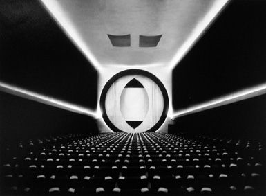 Ruth Bernhard, 8th Street Movie Theatre, 1946, selenium-toned gelatin silver print