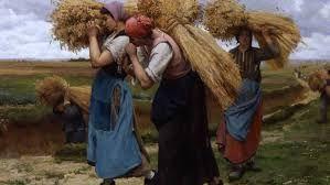 Resultado de imagen para Una pastora con su rebaño (Jean-François Millet)
