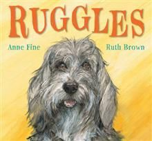 Ruggles by Anne Fine and illustrated by Ruth Brown. The mischievous Ruggles escapes from home to go on adventures in all different weather, until it snows... Beautiful and detailed illustrations. Ruggles is very cute :)