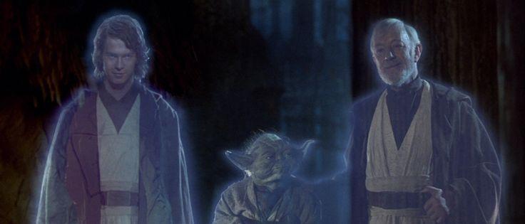 Star Wars Return Of The Jedi Anakin, Yoda, Obi Wan