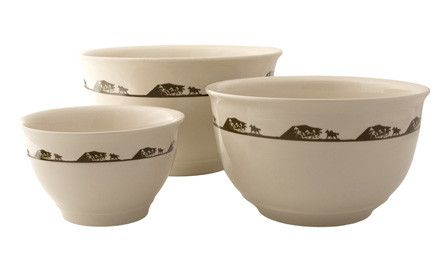 "(MBHW9202) ""Running Horses"" Mixing Bowls - 3 Piece Set"