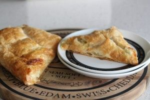Brie and Leek Pastries
