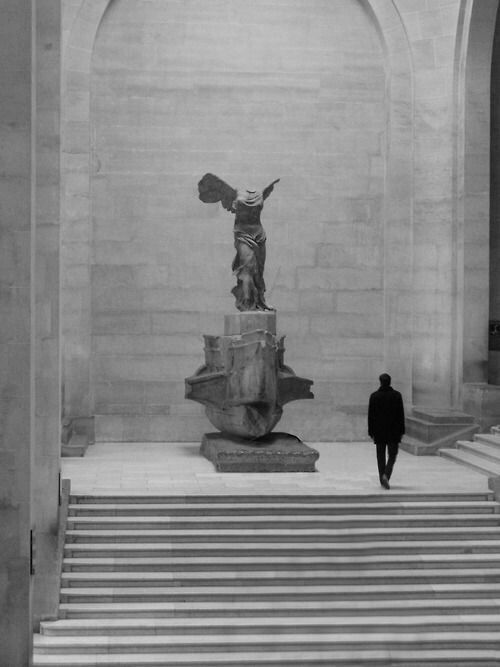 The Winged Victory of Samothrace, also called the Nike of is a century BC  marble sculpture of the Greek goddess Nike (Victory).