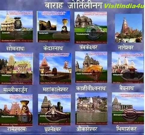 India is the most Beautiful country and largest democracy in the world. The tourist is  surprised to find Mahadev(Shiv) jyotirlink 1)Somnath, 2)kedarnath, 3)Trimbakeshwar, 4)Nageswar,  5)Mallikaarjuna, 6)Mahakaleshwar, 7)Kashivighhynath, 8)Baidyanath, 9)Rameswarm, 10)grishneshwar, 11)Omkareswar, 12)Bhhimashanker. . . . .http://goo.gl/kx2kQo
