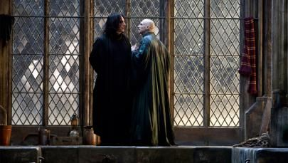 """Alan Rickman's Snape Is the Professor Who Lived: