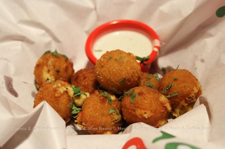 Texas Cheese Poppers at Chili's, Delhi. #food #cheese #Delhi