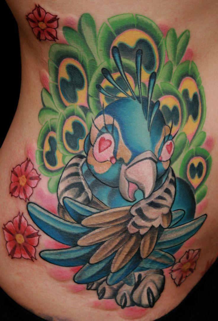 new animal tattoos New School Tattoo Style Animals Color