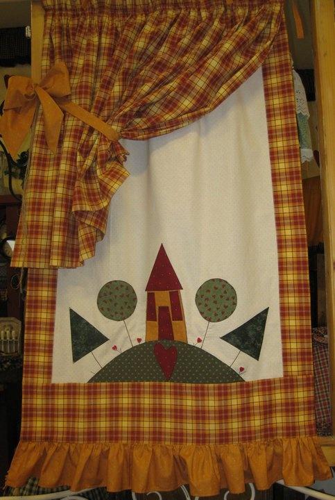 cortina casinha
