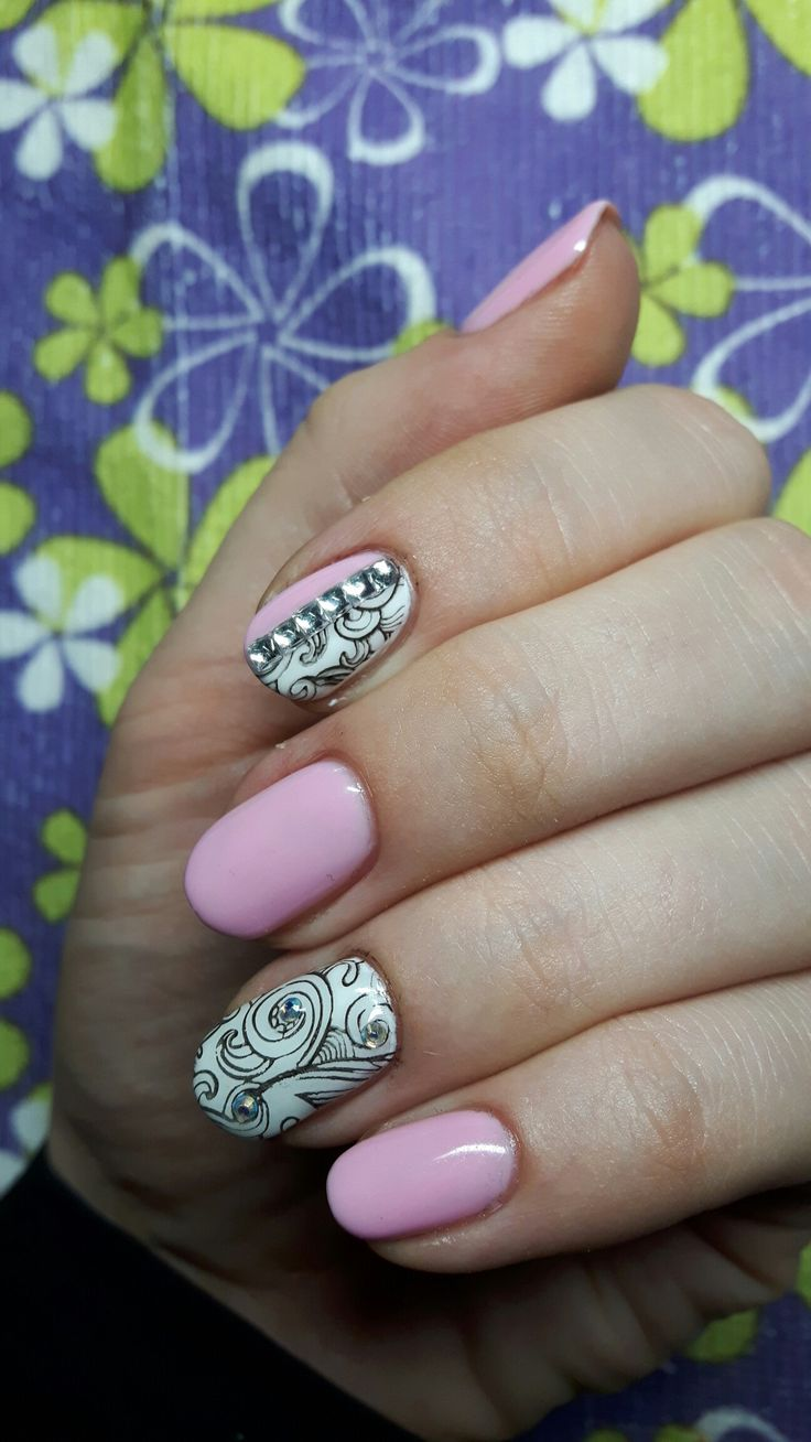 Semilac sweet pink, strong white