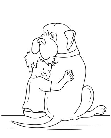Henry And Mudge Coloring Page Enrichment Coloring