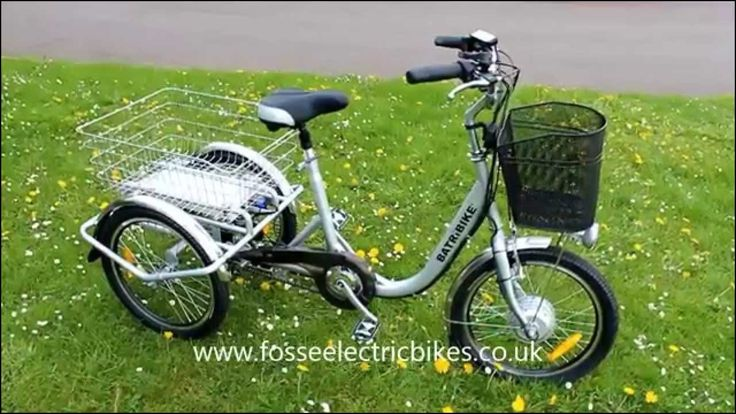 Electric 3 Wheel Bikes for Sale