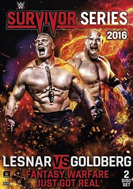 Goldberg & Brock Lesnar - WWE: Survivor Series 2016