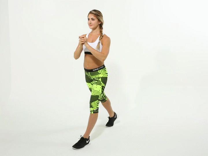 11 exercícios simples para tonificar as pernas e levantar o bumbum - Mega Curioso - 10. Agachamento dividido