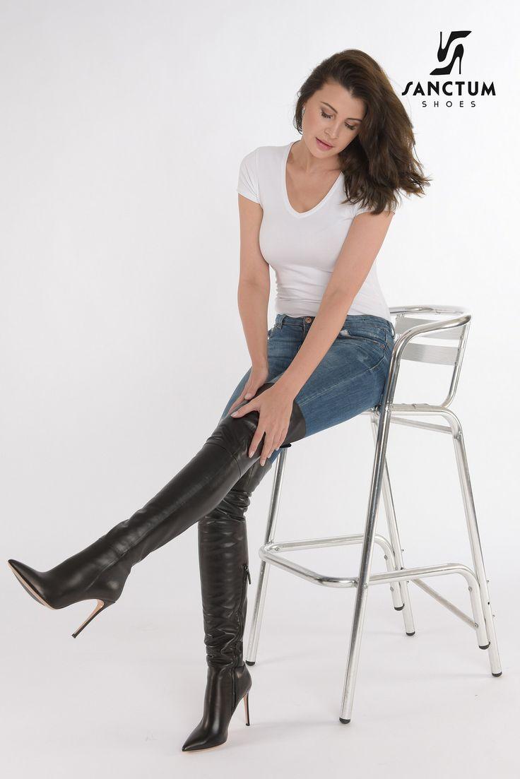 Olga @ Sanctum Shoes NL | Italian leather boots by www.sanctumshoes.com