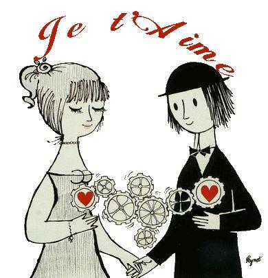 Les amoureux de Peynet - Raymond Peynet, souvent appelé par son seul nom, est un illustrateur français, né à Paris le 16 novembre 1908 et mort le 14 janvier 1999 à Mougins (Alpes-Maritimes). Il est célèbre pour avoir créé en 1942 les deux personnages d'amoureux qu'il a dessinés sur de nombreux supports, dont des timbres-poste. http://www.rendezvousenfrance.com/ #france #peynet
