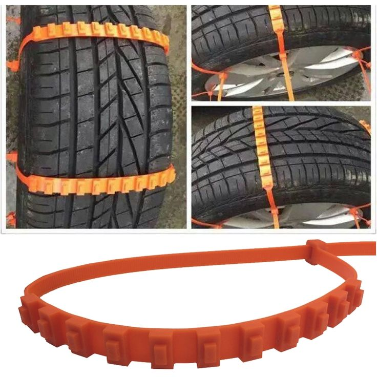To greatly ensure your driving safety in rainy or snowy days, this 10pcs Universal Anti-skid Tire Wheel Snow Chains for Cars SUV Truck is really an ideal choice for you all! Special anti-skid treatment makes the tire chain a perfect protector for drivers! It adopts premium nylon 66 material, with excellent wear-resistance and road holding performance. It is lightweight for installing on the tire, which will not cause any damage to the tires. Good for emergency!