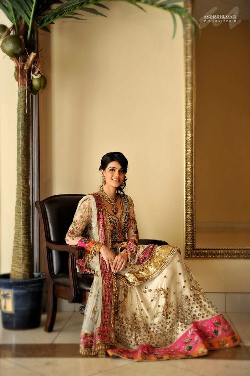 Indian style wedding dress