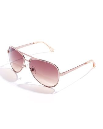 Peyton Aviator Sunglasses by Michael Kors at Neiman Marcus.
