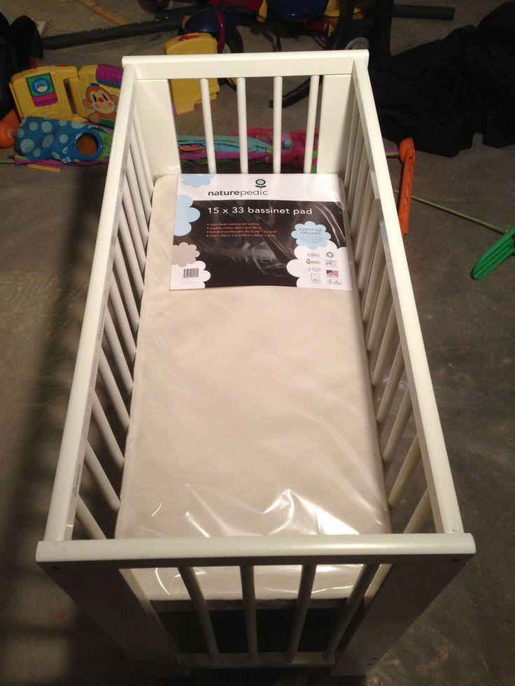 Gulliver crib ikea hacked into a mini crib using a basinet