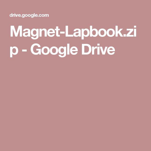 Magnet-Lapbook.zip - Google Drive