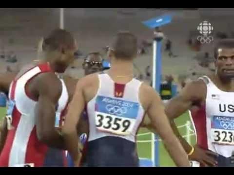 Jeremy Wariner 400m Final 44.00 - 2004 Athens Olympics