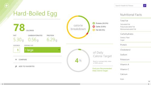 Bing launches a health and fitness app. #health #fitness #technology