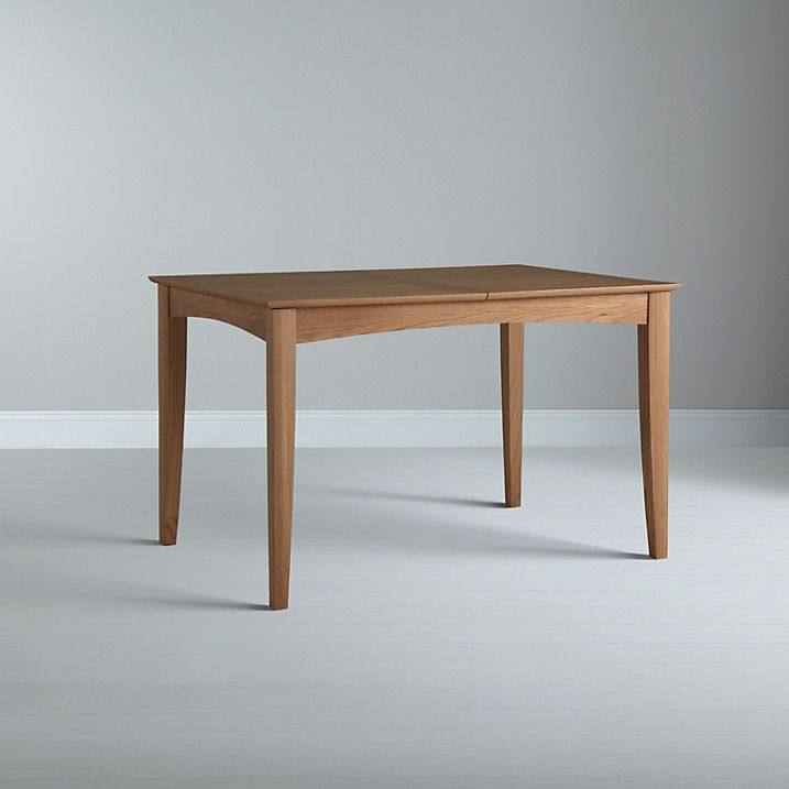 Buy John Lewis Alba 4-6 Seater Extending Dining Table, Oak Online at johnlewis.com