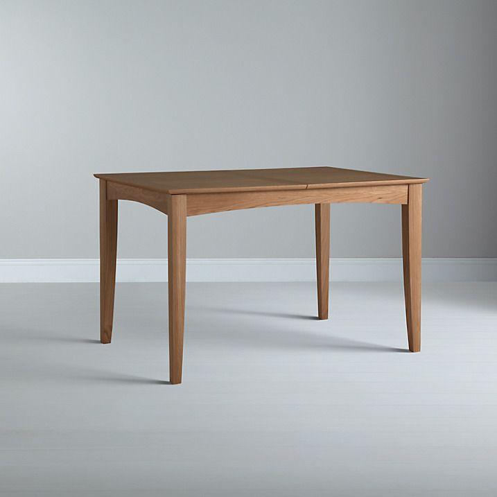 Buy John Lewis Alba 4-6 Seater Extending Dining Table, Oak Online at johnlewis.com