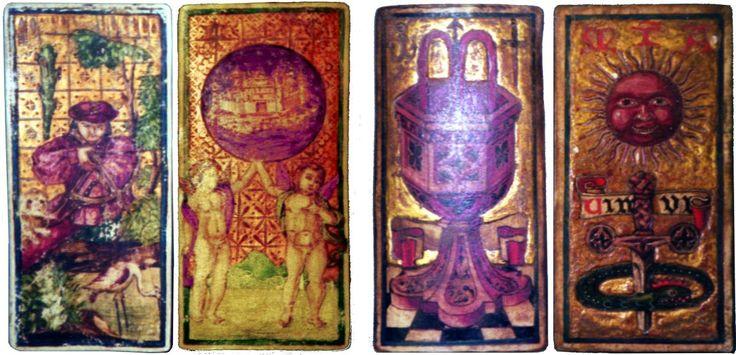 Guildhall Library Tarocchi Cards (Spain)
