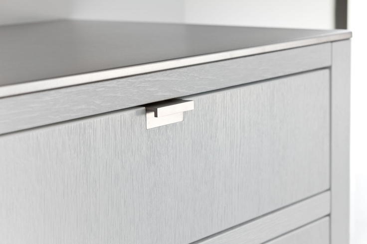 Kitchens - Piet Boon by WARENDORF - STOCKHOLM Drawers fitted with inserts in beech wood